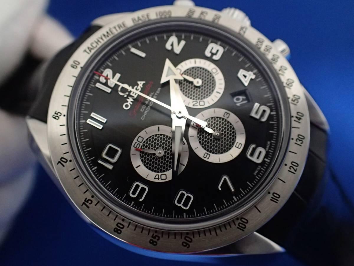 【送料無料】オメガ スピードマスター ブロードアロー 321.13.44.50.01.001 ブラック コーアクシャル メンズ 時計 _画像9