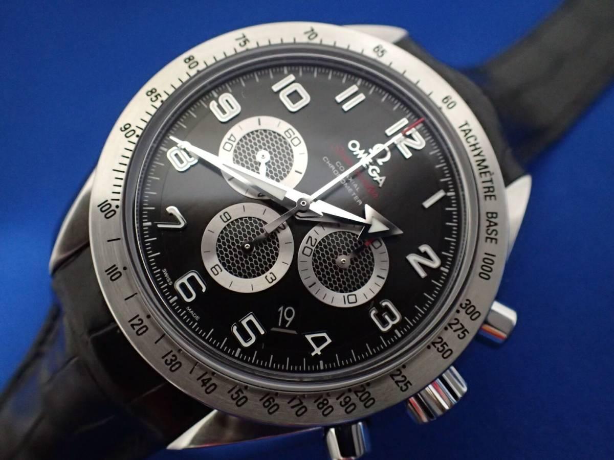 【送料無料】オメガ スピードマスター ブロードアロー 321.13.44.50.01.001 ブラック コーアクシャル メンズ 時計 _画像8