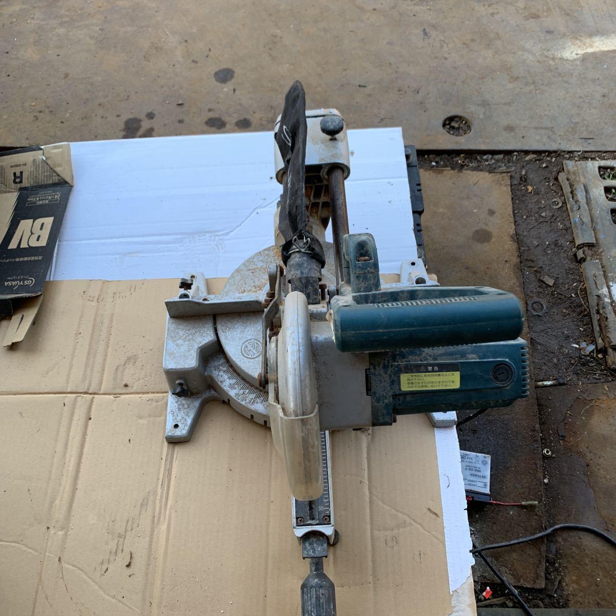 新興製作所 卓上スライド丸のこ SSC-190 作動品
