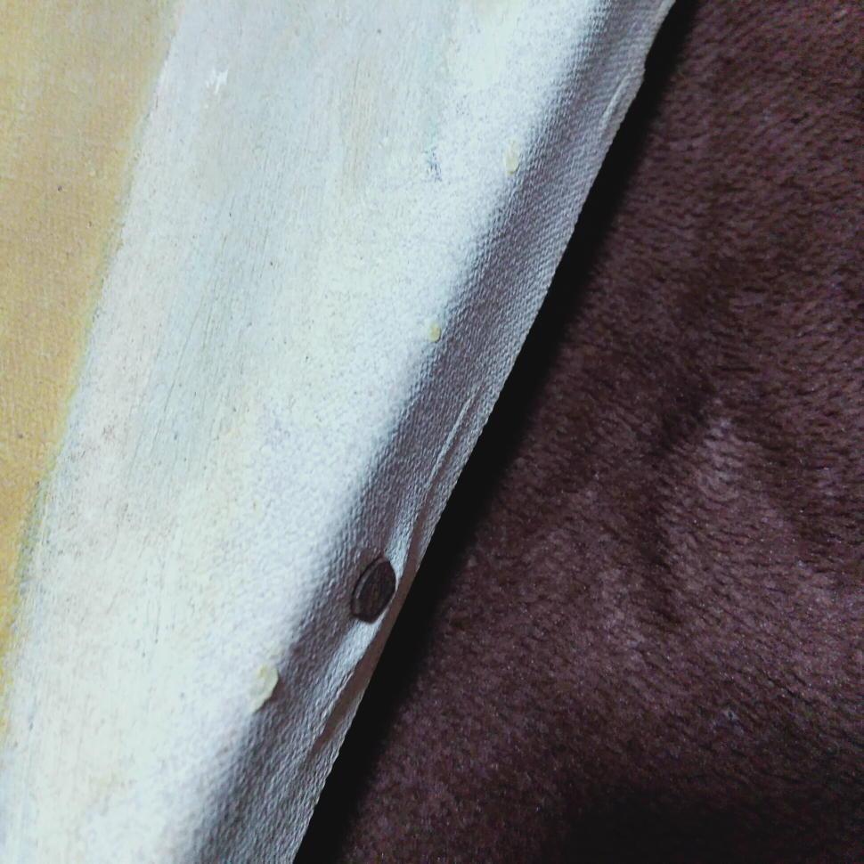 送料無料 仏画 程度普通  約45×53cm 仁王 写仏 仏教 一般の方の絵かと かなり古いもの_画像7