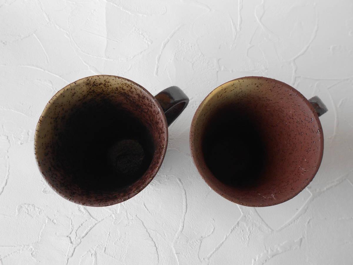 九谷焼! ☆銀彩金銀ちらし・ペアマグカップ☆ K6-941 新品 コーヒー 紅茶 ギフト ※_画像2