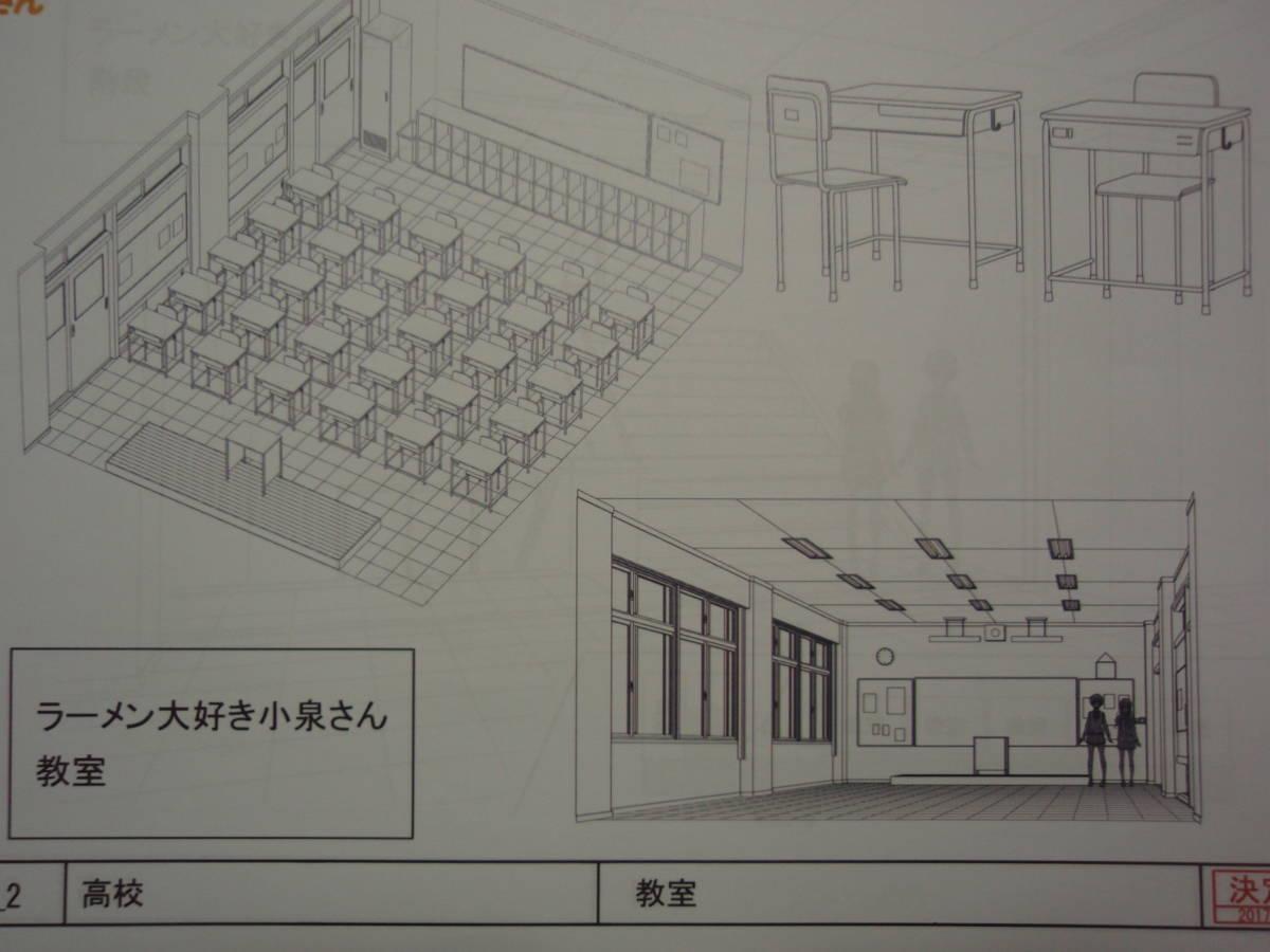 ラーメン大好き小泉さん 設定資料_画像8