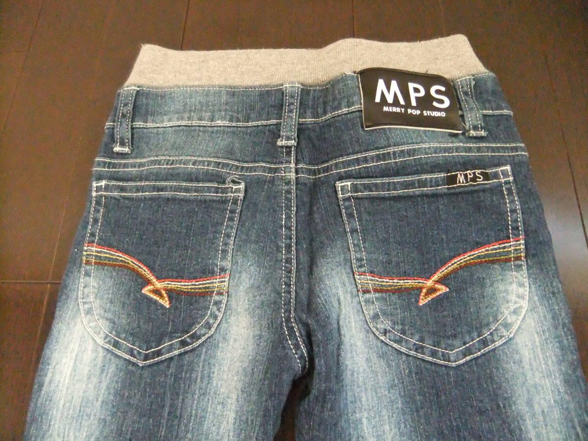 MPS ライトオン キッズ スキニーデニムパンツ 長ズボン 130cm_画像4