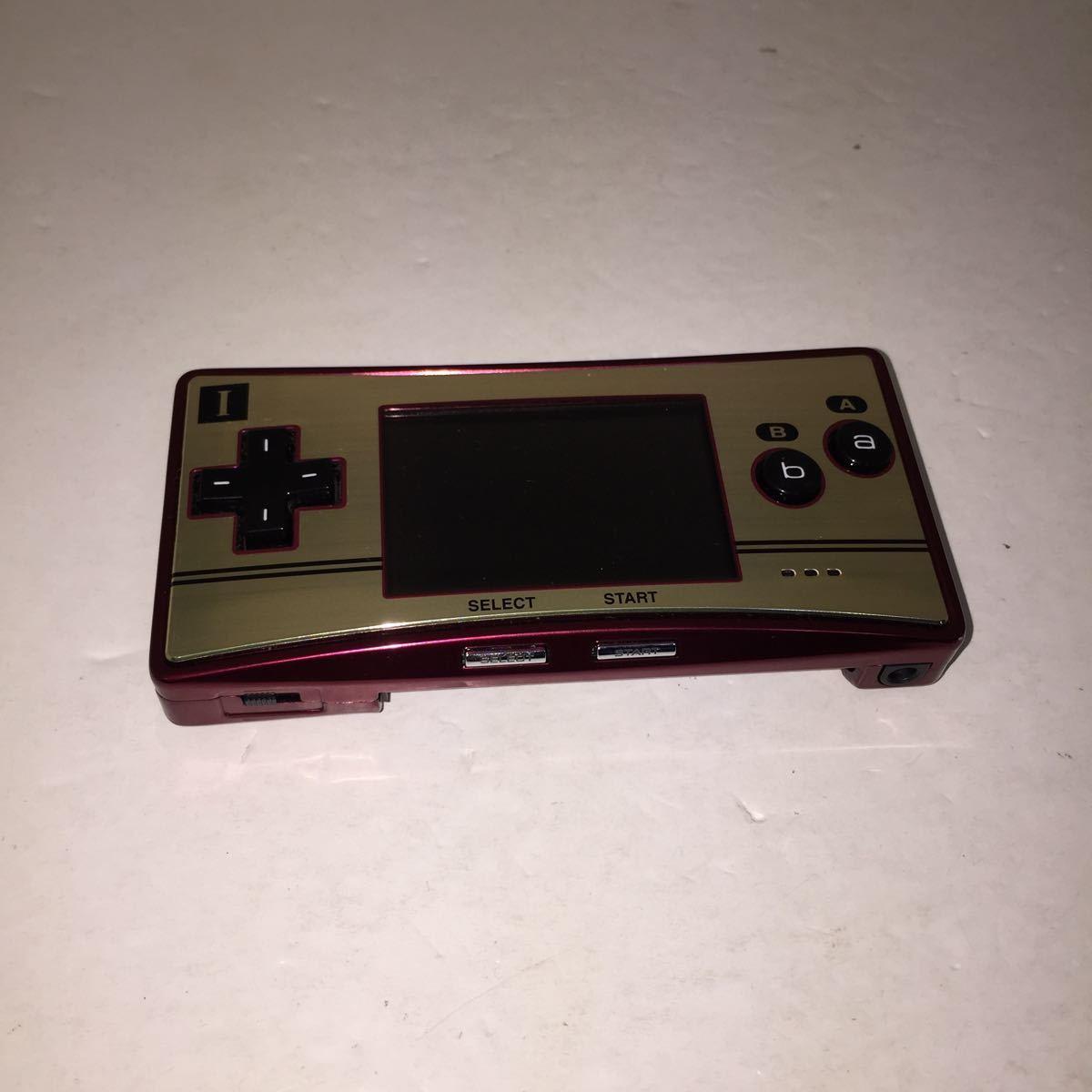 【ジャンク】ゲームボーイミクロ Nintendo ジャンク品 ゲーム機本体 GAMEBOYmicro 任天堂ゲームボーイ 部品取り 修理可能な方
