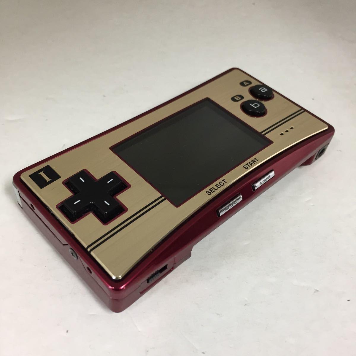 【ジャンク】ゲームボーイミクロ Nintendo ジャンク品 ゲーム機本体 GAMEBOYmicro 任天堂ゲームボーイ 部品取り 修理可能な方_画像2