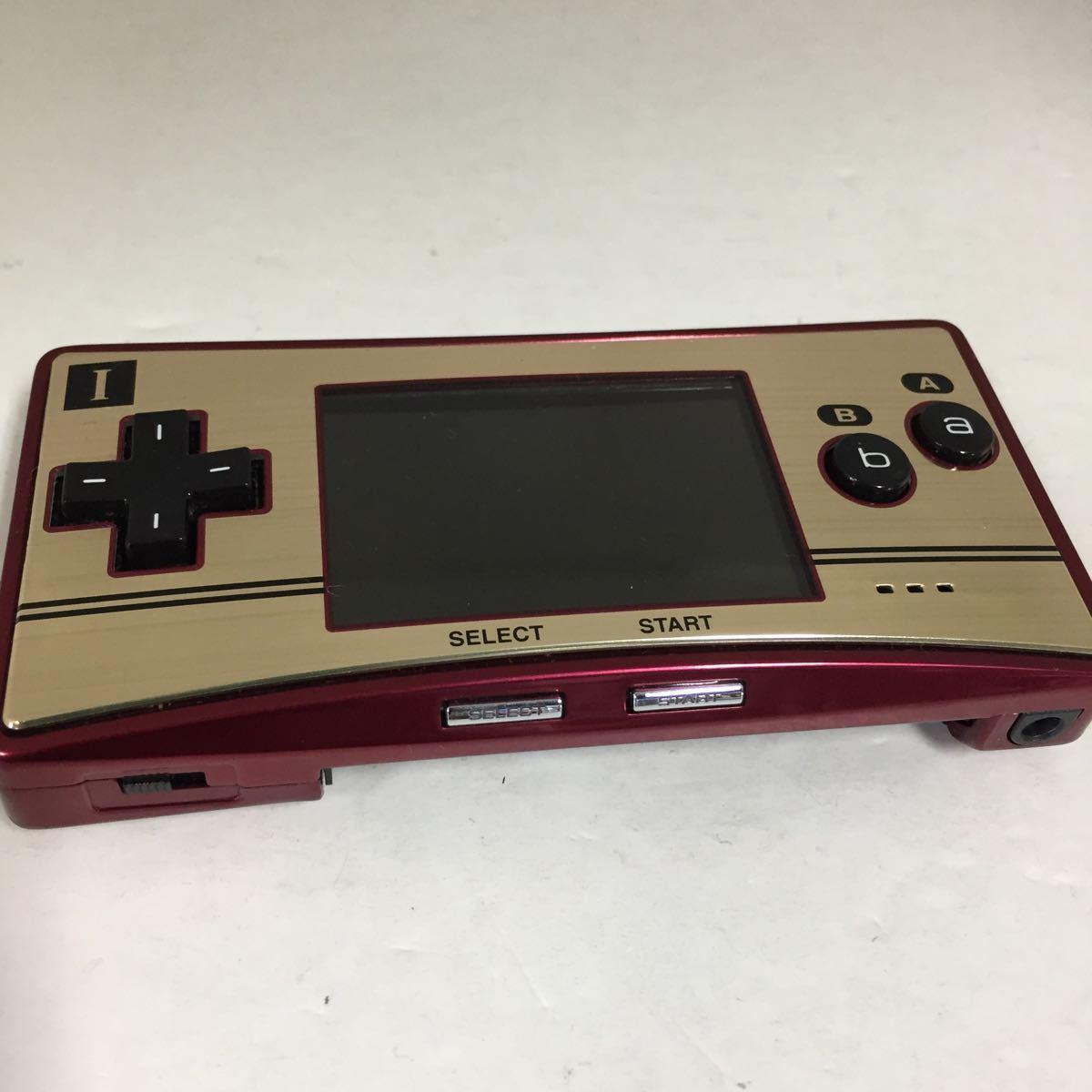 【ジャンク】ゲームボーイミクロ Nintendo ジャンク品 ゲーム機本体 GAMEBOYmicro 任天堂ゲームボーイ 部品取り 修理可能な方_画像4