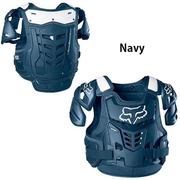 ★新品★ S/M ネイビー FOX チェストプロテクター Raptor Vest CE 2020年 最新モデル_画像4