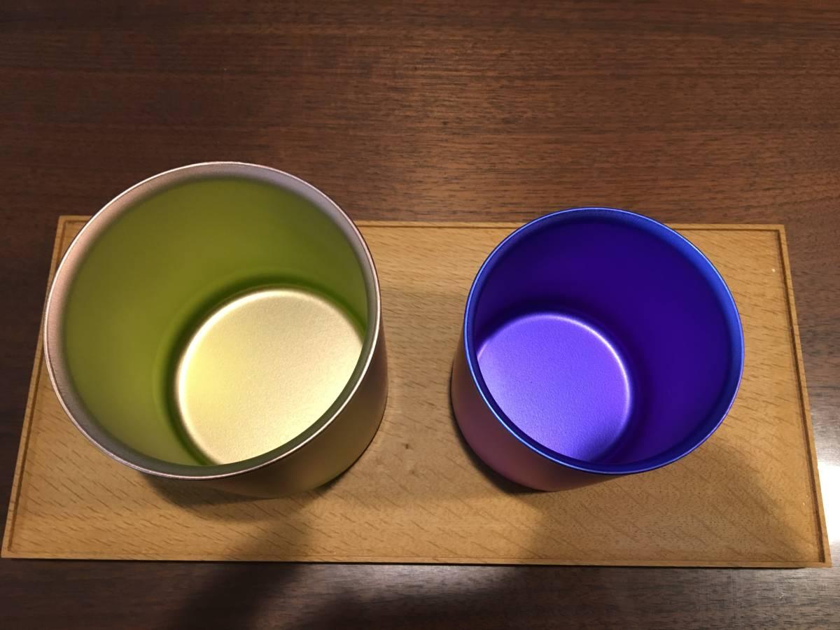 送料無料★スノーピーク Starbucks ロースタリー東京 コラボ ダブルウォールチタンマグ ピンク 450mlブルー 300ml スタバ Snow Peak_画像2