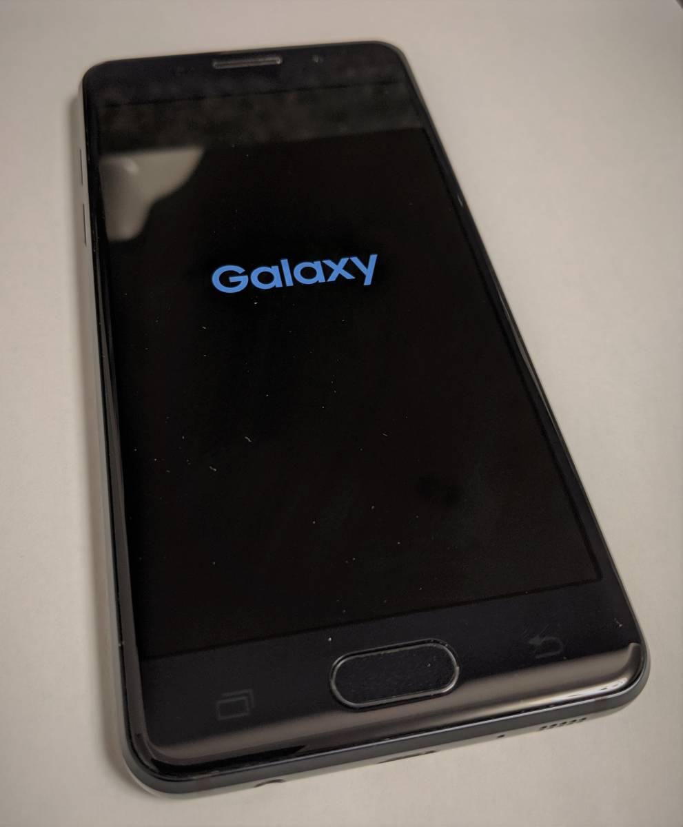 【送料無料】【SIMロック解除済・コード添付】ドコモ Galaxy Feel インディゴブラック (黒) 判定○ SC-04J 32GB 中古 本体