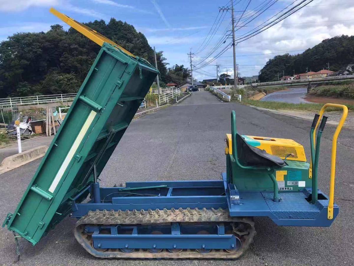 筑水キャニコム 運搬車 イグレッグコア BFE806 800kg 作動確認済み_画像5