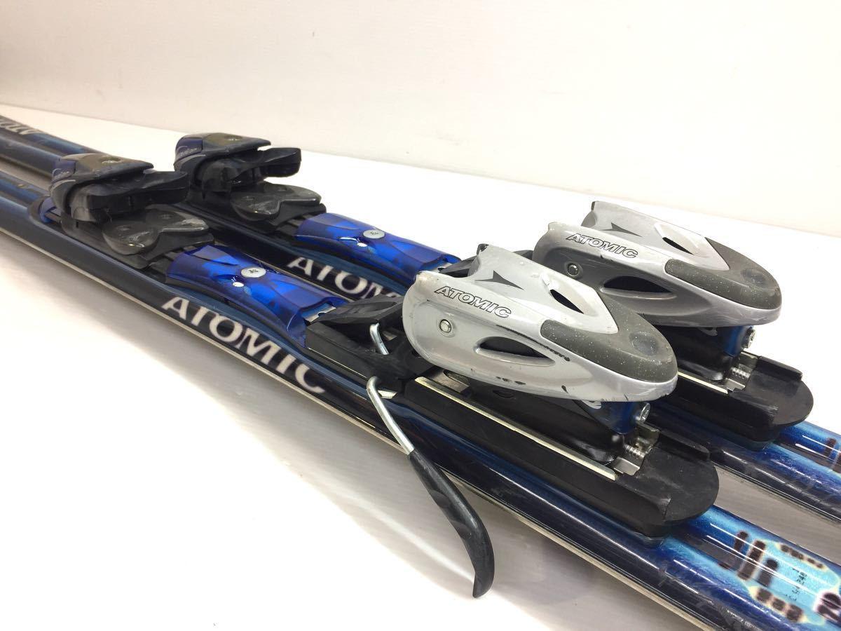 S10161 ATOMIC アトミック BETA CARV 9.18 170cm + アトミック DEVICE310 270-360mm 3-10 スライド式 スキー 板 中古_画像6