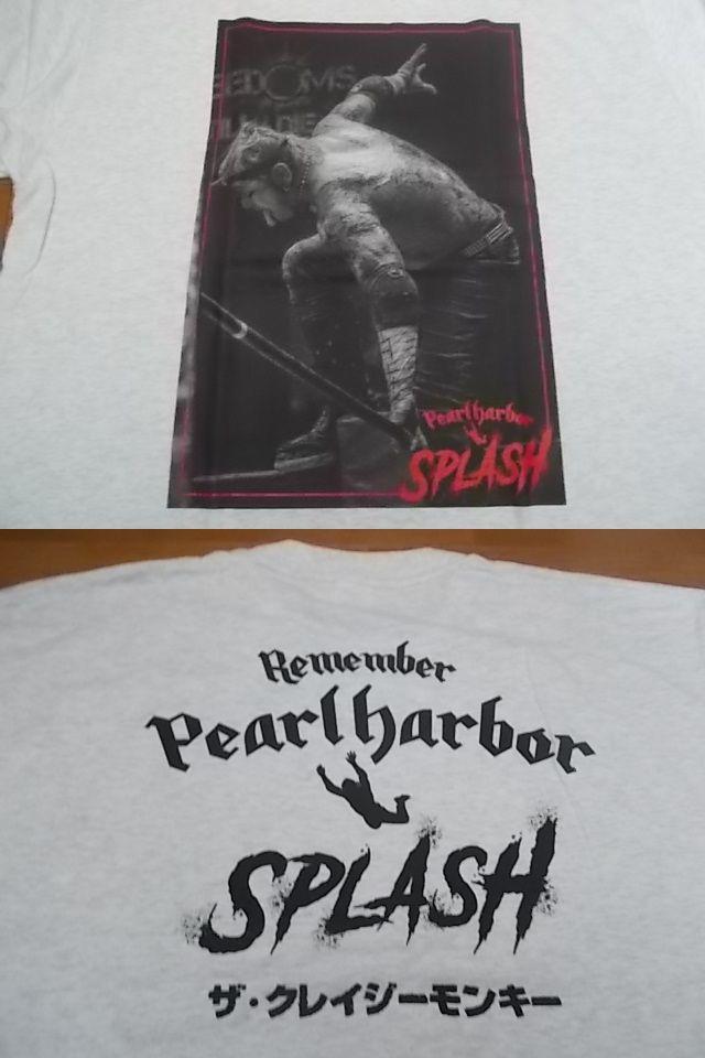 未使用 葛西純 パールハーバースプラッシュ シェー Tシャツ XXL アッシュグレー 限定カラー 検/ パンクドランカーズ punkdrunkers