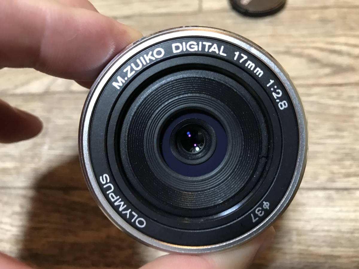 【1000円スタート】広角オリンパスM.ZUIKO DIGITAL 17mm 1:2.8 OLYMPUS 単焦点レンズ パンケーキ交換レンズ F2.8 マイクロ・フォーサーズ _画像2