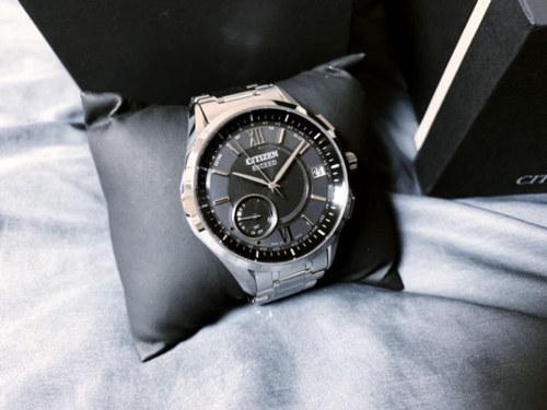 送料無料【CITIZEN(シチズン)】EXCEED(エクシード)電波ソーラー腕時計 CC3050-56E ◆新品・未使用_画像2