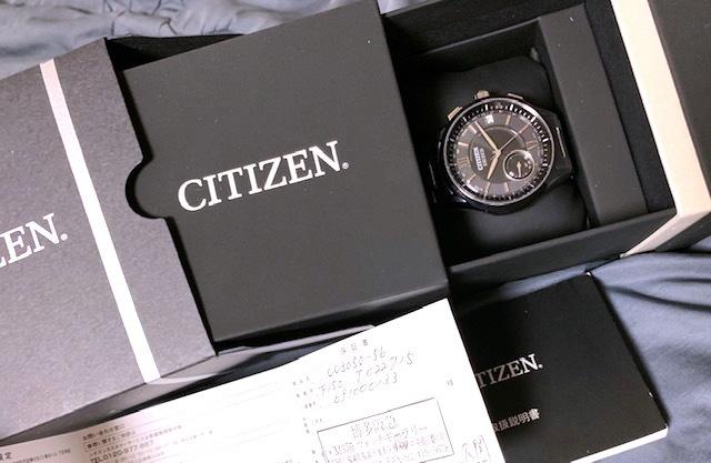 送料無料【CITIZEN(シチズン)】EXCEED(エクシード)電波ソーラー腕時計 CC3050-56E ◆新品・未使用_画像3