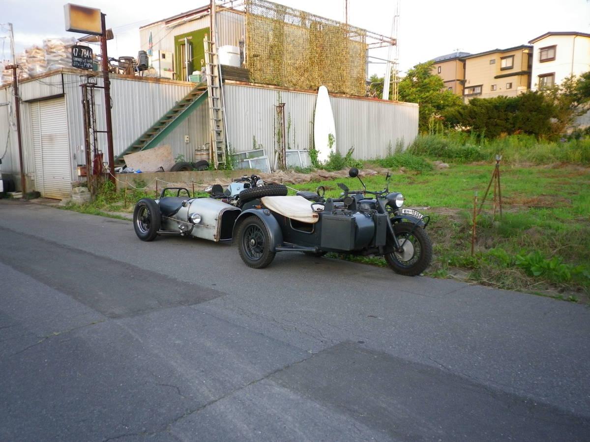 「BMW ホッドロッド サイドカー 現車確認OK」の画像3