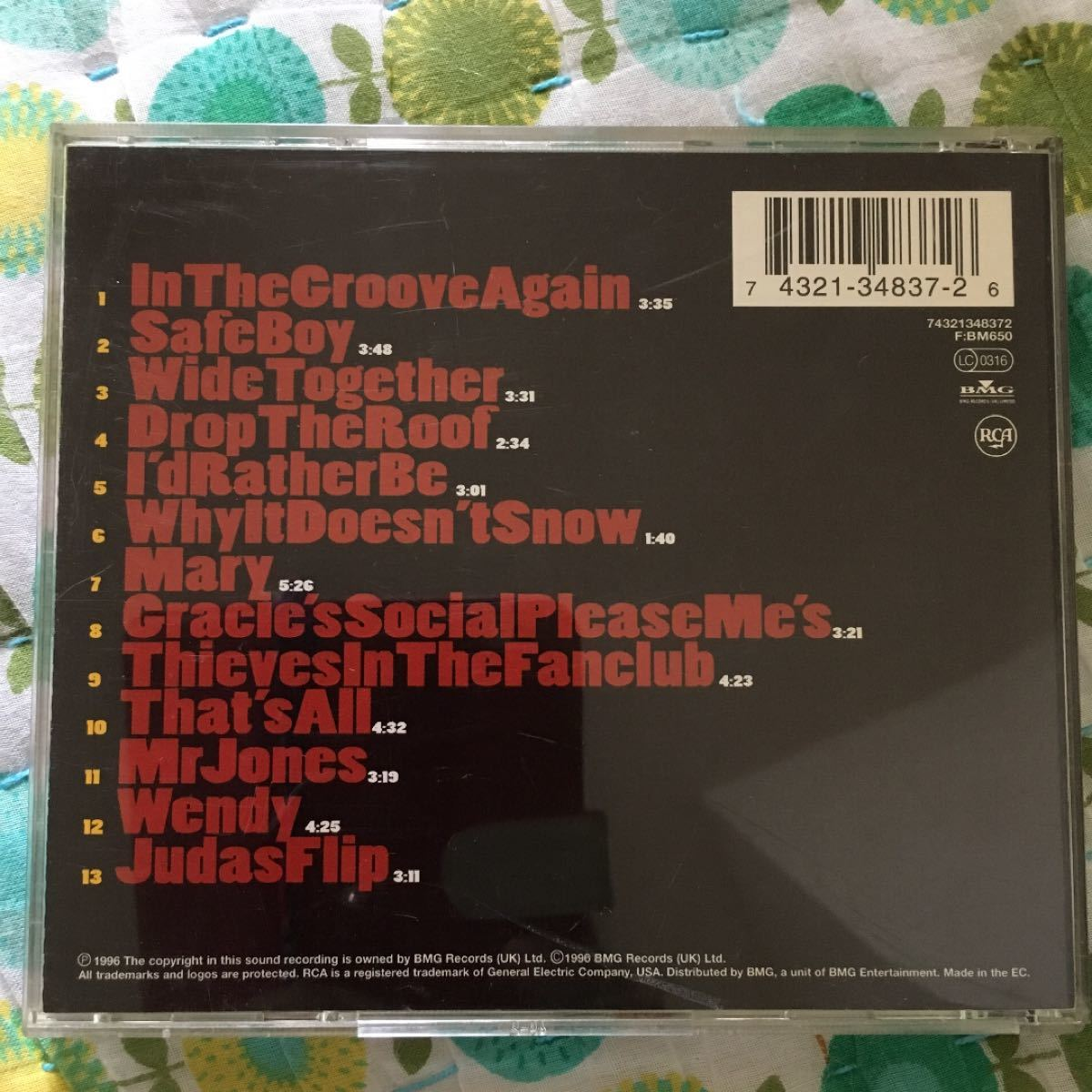 OUT OF MY HAIR「DROP THE ROOF」CD