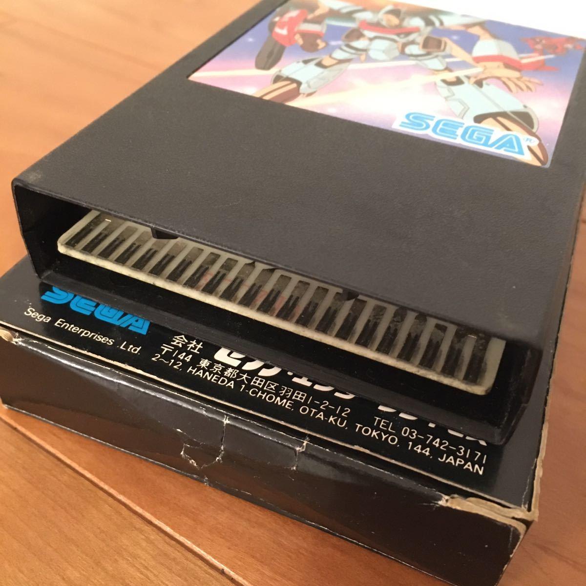 美品 箱 説明書付き SEGA セガ ORGUSS オーガス SG-3000 SG-1000_画像7