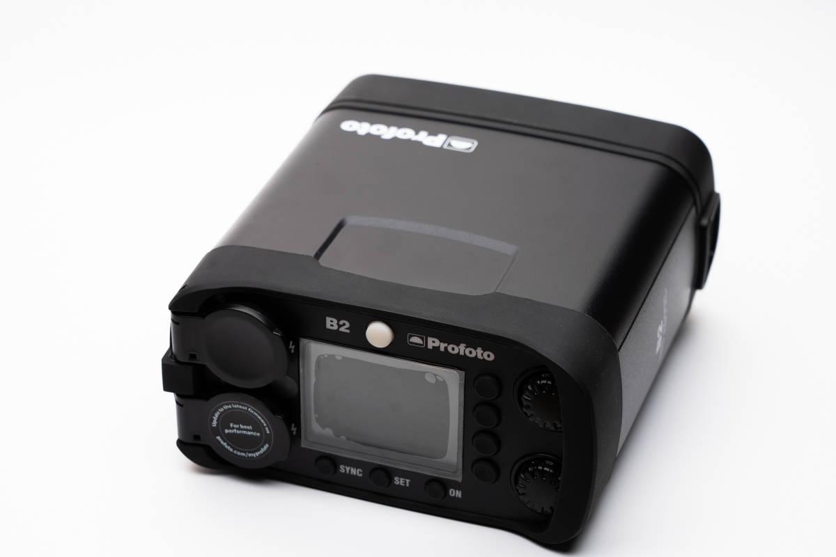 小型軽量でロケーション撮影をより簡単により迅速に。Profoto (プロフォト) B2 250 AirTTL to-go kit1灯キット[美品]_画像5