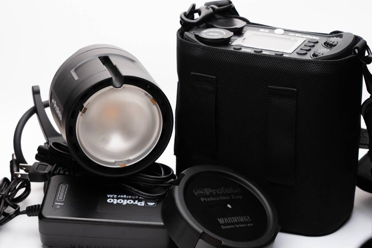 小型軽量でロケーション撮影をより簡単により迅速に。Profoto (プロフォト) B2 250 AirTTL to-go kit1灯キット[美品]_画像8