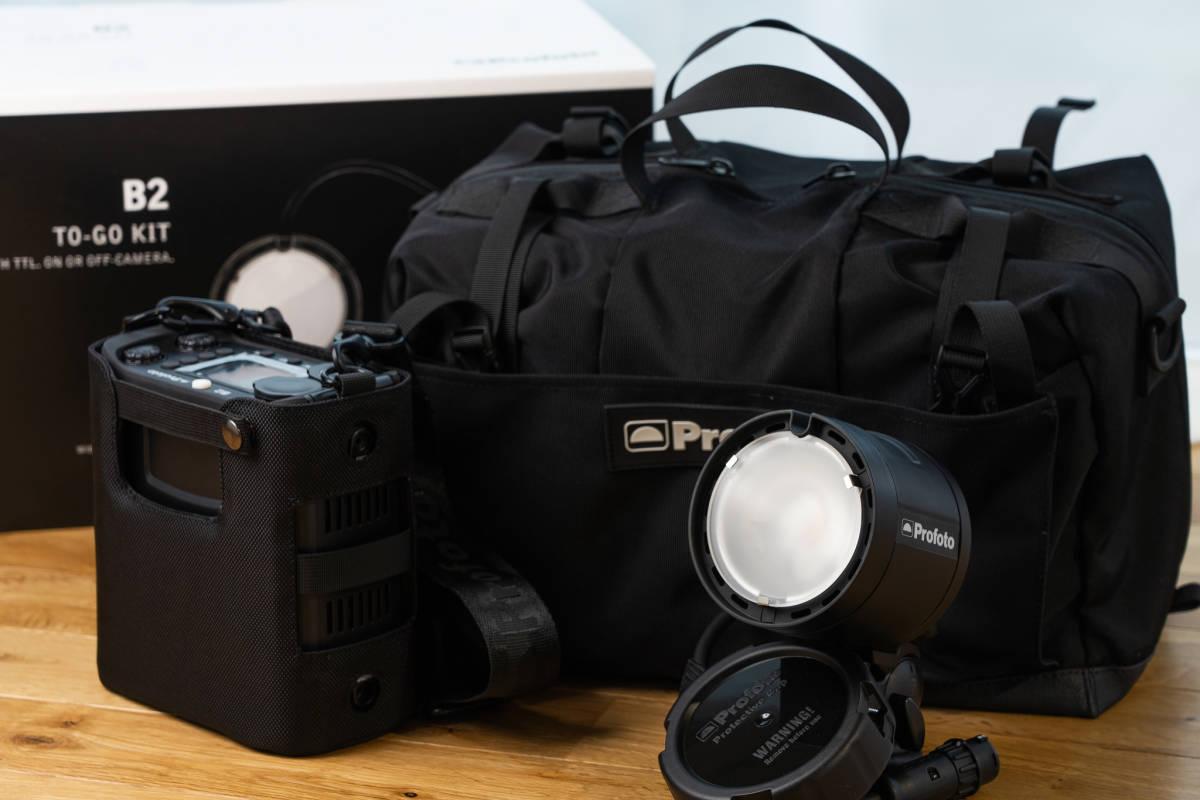 小型軽量でロケーション撮影をより簡単により迅速に。Profoto (プロフォト) B2 250 AirTTL to-go kit1灯キット[美品]_画像10