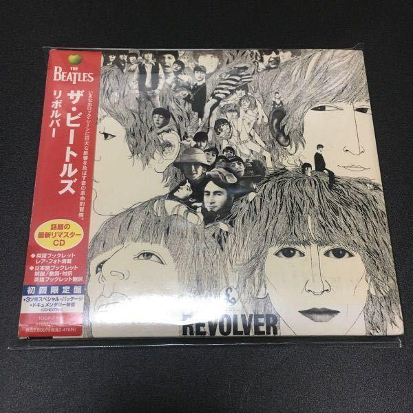 即決 The Beatles REVOLVER ☆2009リマスタリング初回限定紙ジャケットCD-EXTRA仕様 ☆帯付 ☆ザ・ビートルズ/リボルバー