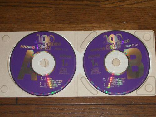 NHKテレビ 100語でスタート!英会話 2004年1月 CD_画像2