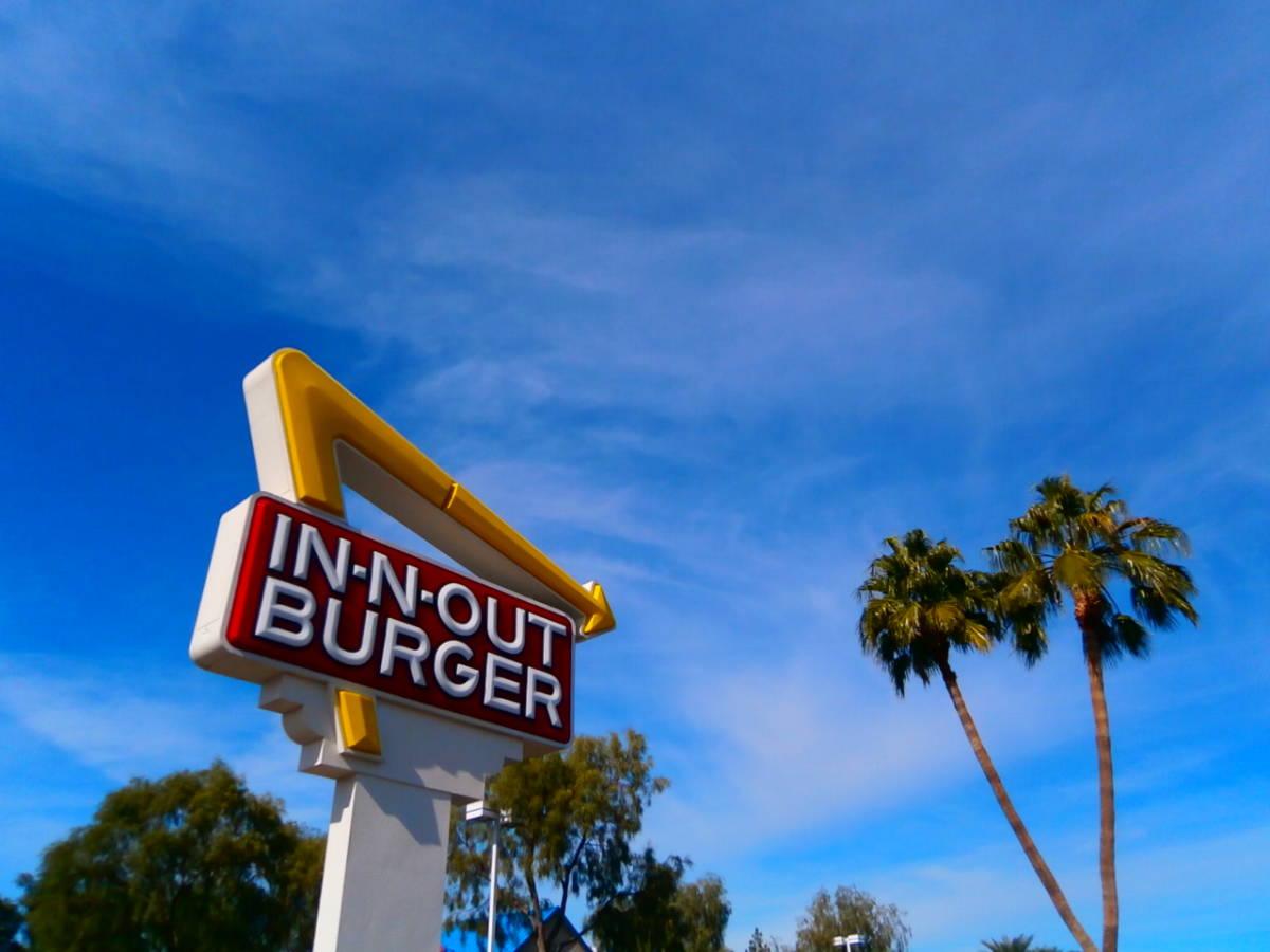 In-N-Out Burger カリフォルニア アメリカ西海岸 インアウトバーガー HOTROD!ローライダー!USDM/JDM!アメ車 Cafe コーヒー/カップ _画像1
