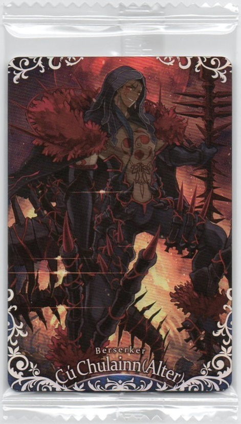 Fate Grand Order ウエハース 復刻スペシャル2 SP26 クー・フーリン〔オルタ〕/FGO_画像1
