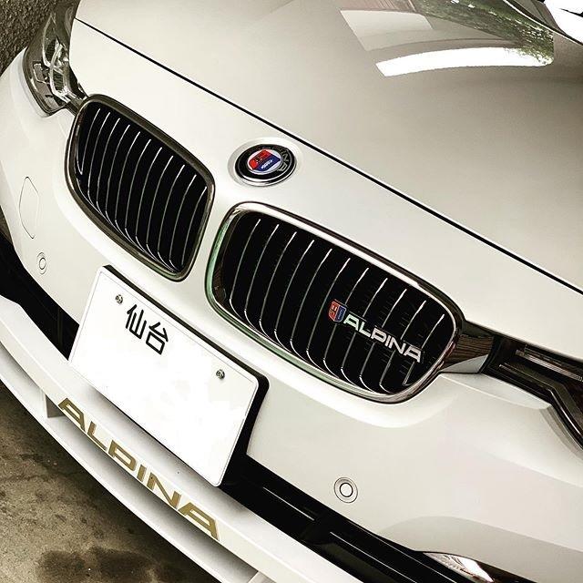 BMW アルピナグリル用立体エンブレム /立体マーク/E60/E90/E93/E92/E61/E70/E71/E82/E85/E86/E87/E89/E91/E36/E46/GT_画像4