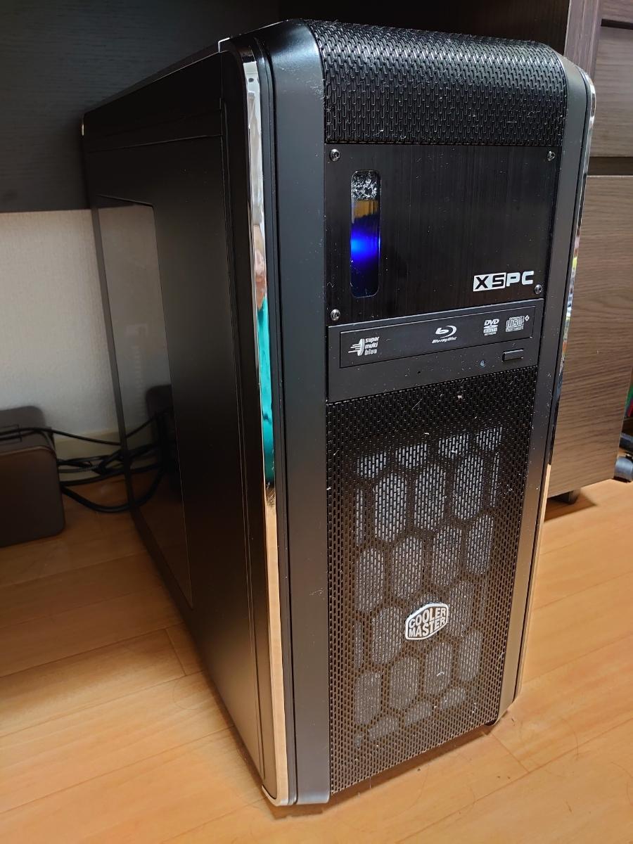【nguyenngovan22様専用】本格水冷パソコン Core i7 6700k/GTX1080Ti/RAM16GB/SSD480GB/HDD2TB/Blu-rayドライブ/1200W電源