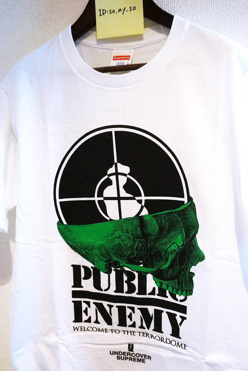 18SS Supreme × UNDERCOVER x public Enemy Tシャツ S シュプリーム アンダーカバー _画像4
