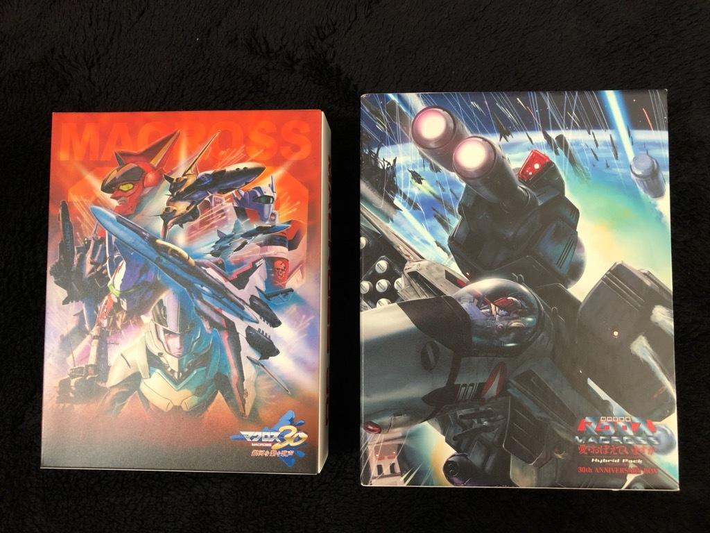 Blu-ray 超時空要塞マクロス 愛・おぼえていますか Hybrid Pack 30周年アニバーサリーボックス+マクロス30 銀河を繋ぐ歌声 超銀河箱 PS3_画像2