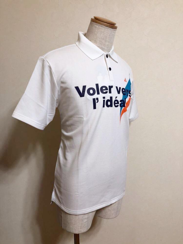 【新品】 le coq sportif GOLF COLLECTION ルコック ゴルフ コレクション ドライポロシャツ 吸汗速乾 ホワイト サイズL 半袖 QG2549 白_画像9