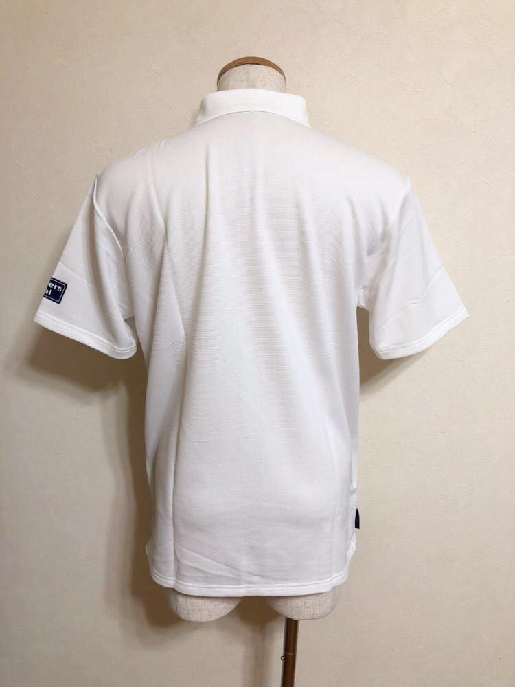 【新品】 le coq sportif GOLF COLLECTION ルコック ゴルフ コレクション ドライポロシャツ 吸汗速乾 ホワイト サイズL 半袖 QG2549 白_画像2