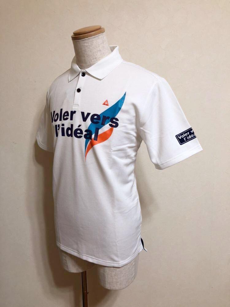 【新品】 le coq sportif GOLF COLLECTION ルコック ゴルフ コレクション ドライポロシャツ 吸汗速乾 ホワイト サイズL 半袖 QG2549 白_画像7