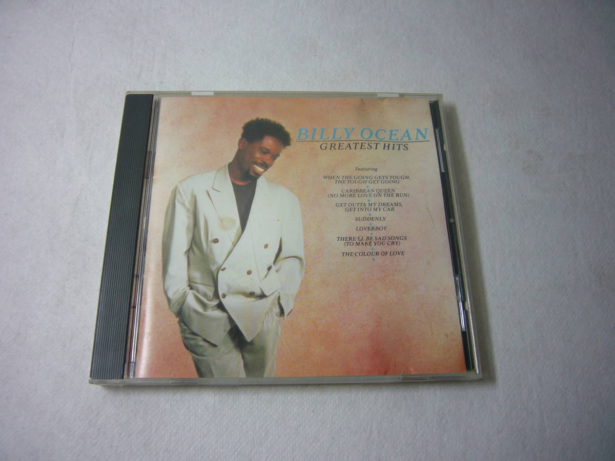 米国現地購入CD 「Billy Ocean」GREATEST HITS