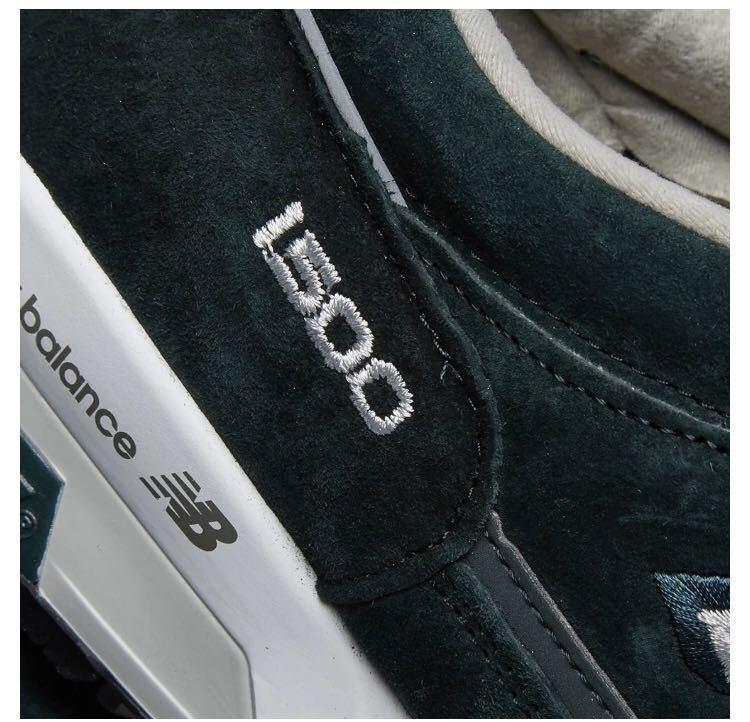 【国内未発売!最速!2019AW新作】New Balance M1500DGW Made in England Grey UK8.5想定税込定価30,800円_画像4