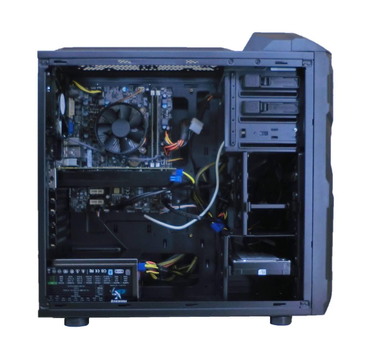 新品ケース!! i7-2600!! Office2019!! win10!! SSD512GB HDD 1TB !!メモリ12GB!美品!!_画像3