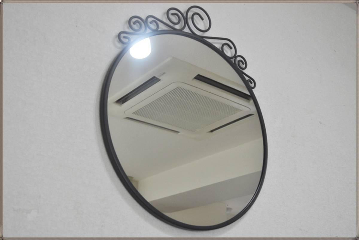 IKEA壁掛けミラーEbba Strandmark 100%無鉛コーティング鏡 EKNEデザイナー飛散防止フィルム貼り鏡イケア 新品・未使用_画像9