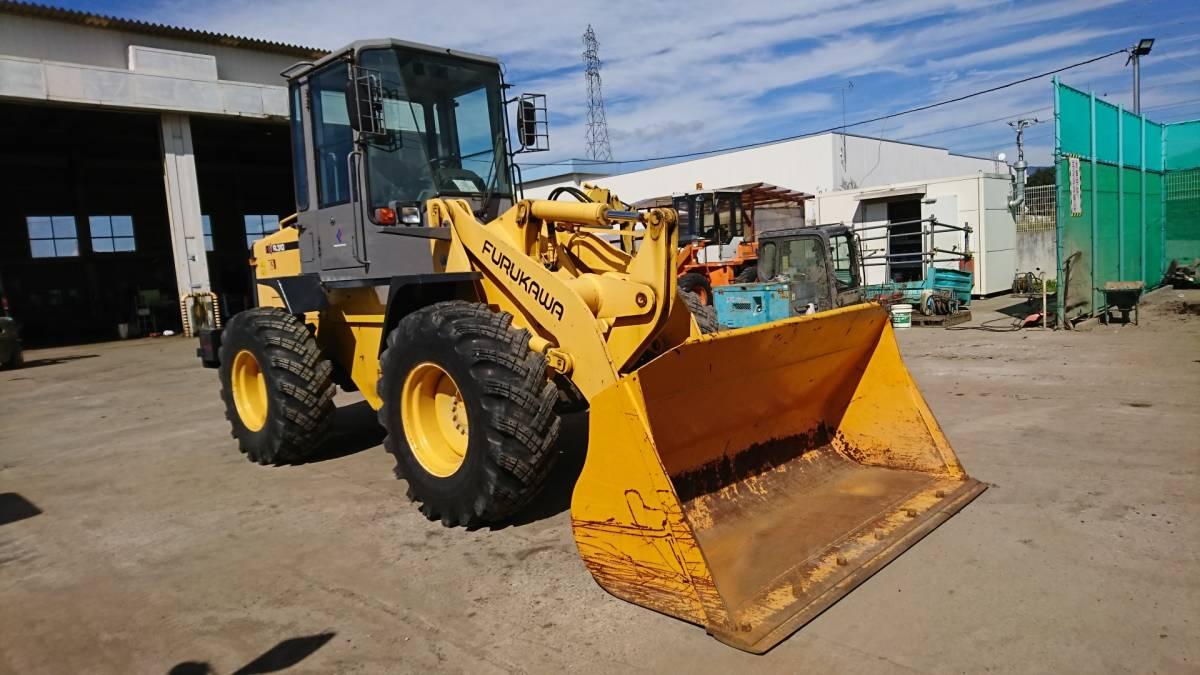 「ホイールローダ 建設機械 除雪機タイヤショベル 大型特殊車 1.3m3 堆肥建材運搬積み込み TCM L13-3」の画像2
