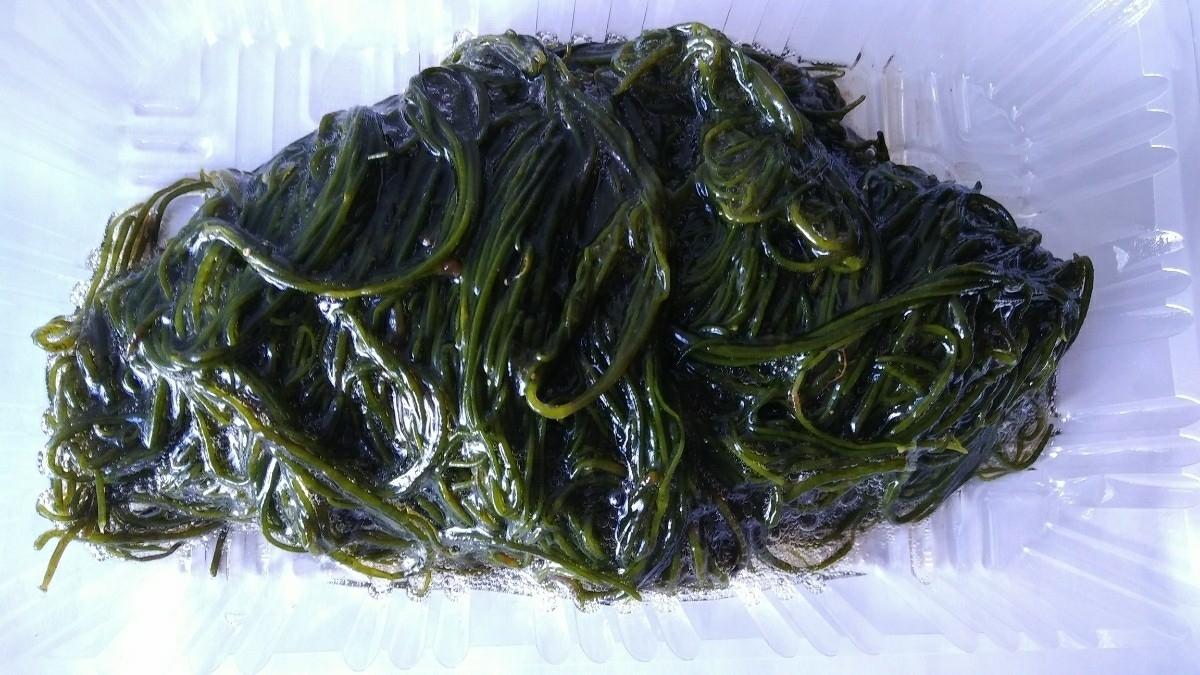(海藻)今別もずく150g「ゆで洗い済み」_画像1