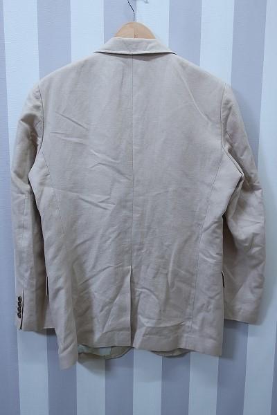 4-876/ユニクロ リネンブレンド レギュラーフィット 3Bテーラードジャケット UNIQLO_画像2