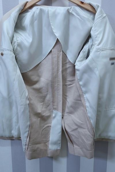 4-876/ユニクロ リネンブレンド レギュラーフィット 3Bテーラードジャケット UNIQLO_画像3