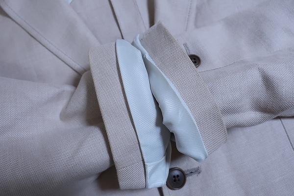 4-876/ユニクロ リネンブレンド レギュラーフィット 3Bテーラードジャケット UNIQLO_画像8