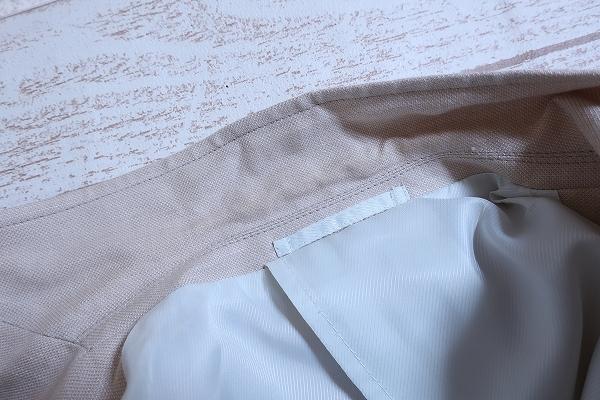 4-876/ユニクロ リネンブレンド レギュラーフィット 3Bテーラードジャケット UNIQLO_画像7