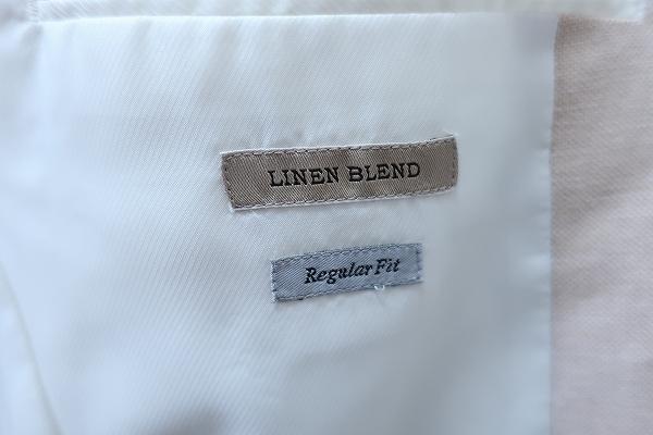 4-876/ユニクロ リネンブレンド レギュラーフィット 3Bテーラードジャケット UNIQLO_画像5