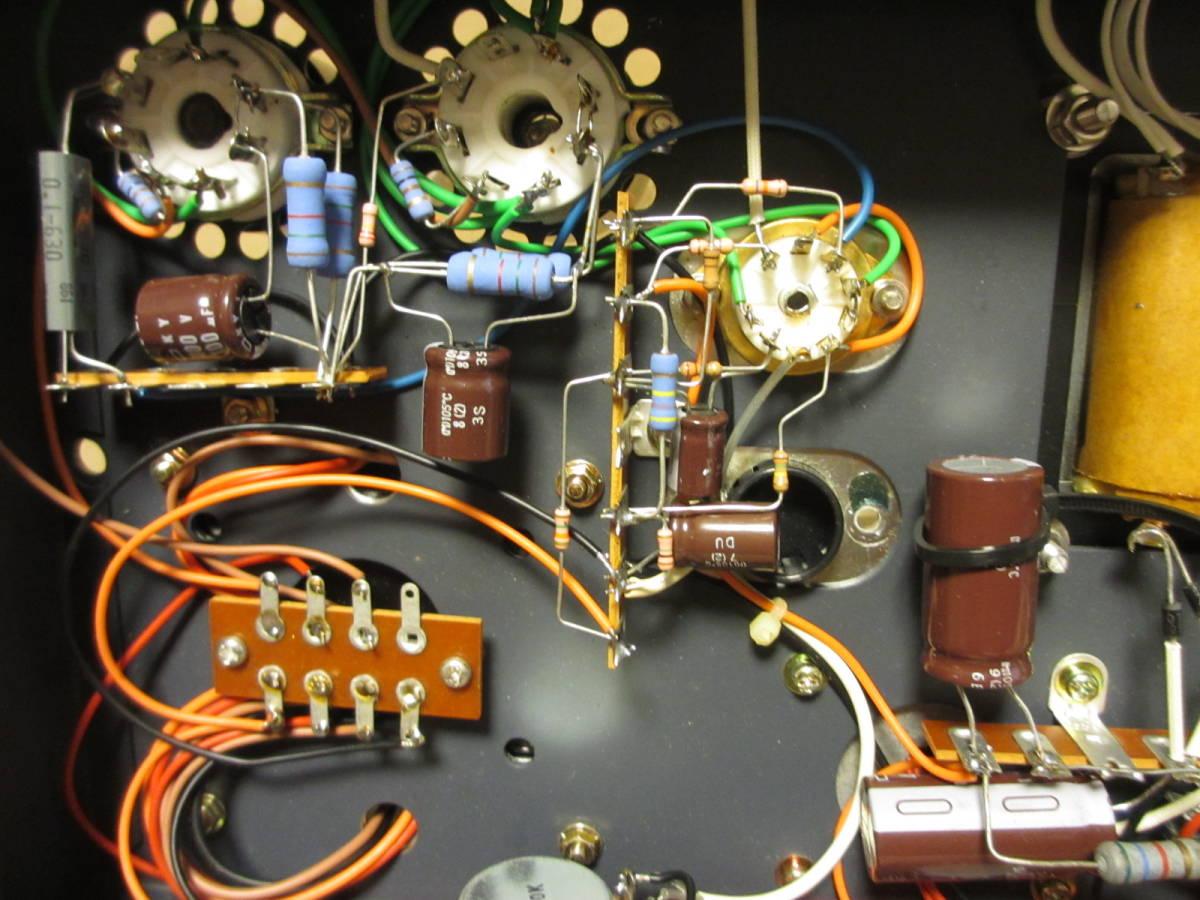 真空管パワーアンプ EL34EH プッシュプル_画像8