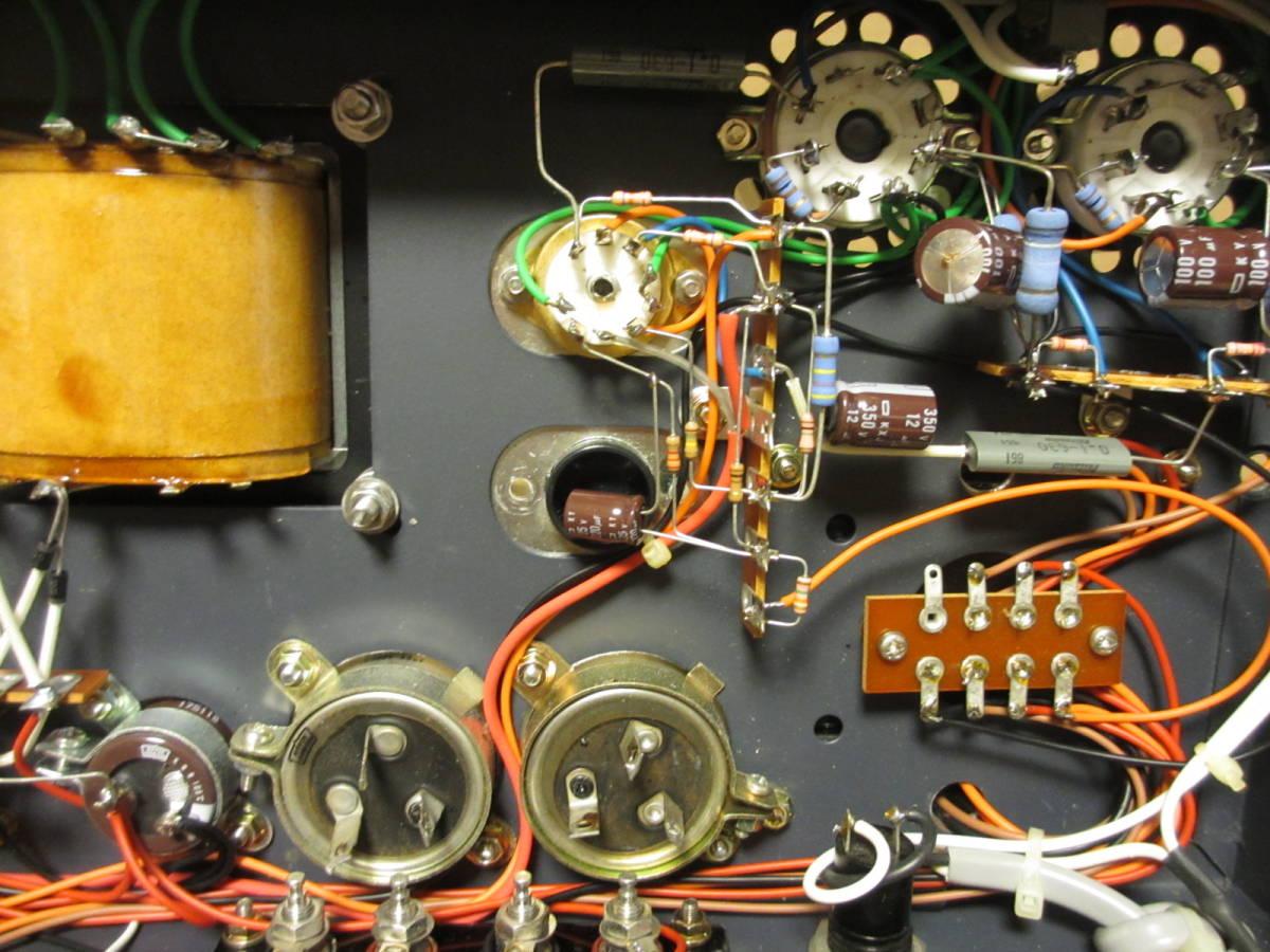 真空管パワーアンプ EL34EH プッシュプル_画像9