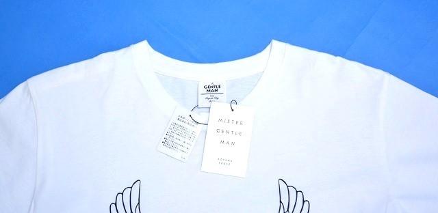 Mr.GENTLEMAN (ミスタージェントルマン) EAGLE TEE イーグルTシャツ 半袖TEE クルーネックプリント PRINT S/S T-SHIRT MISTERGENTLEMAN_画像3